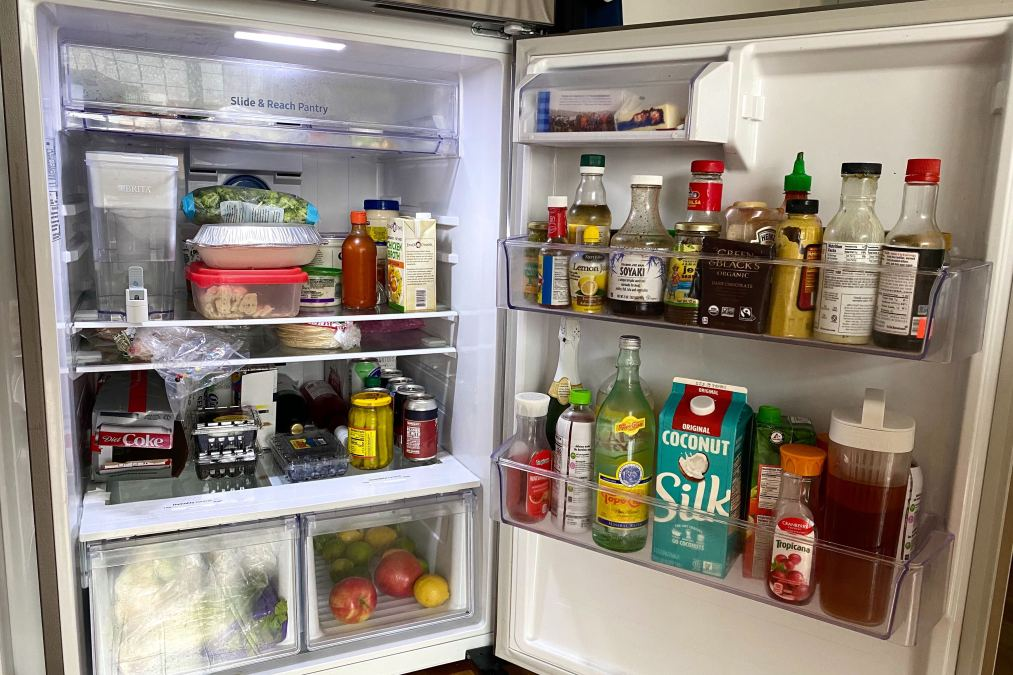 A picture of my fridge.