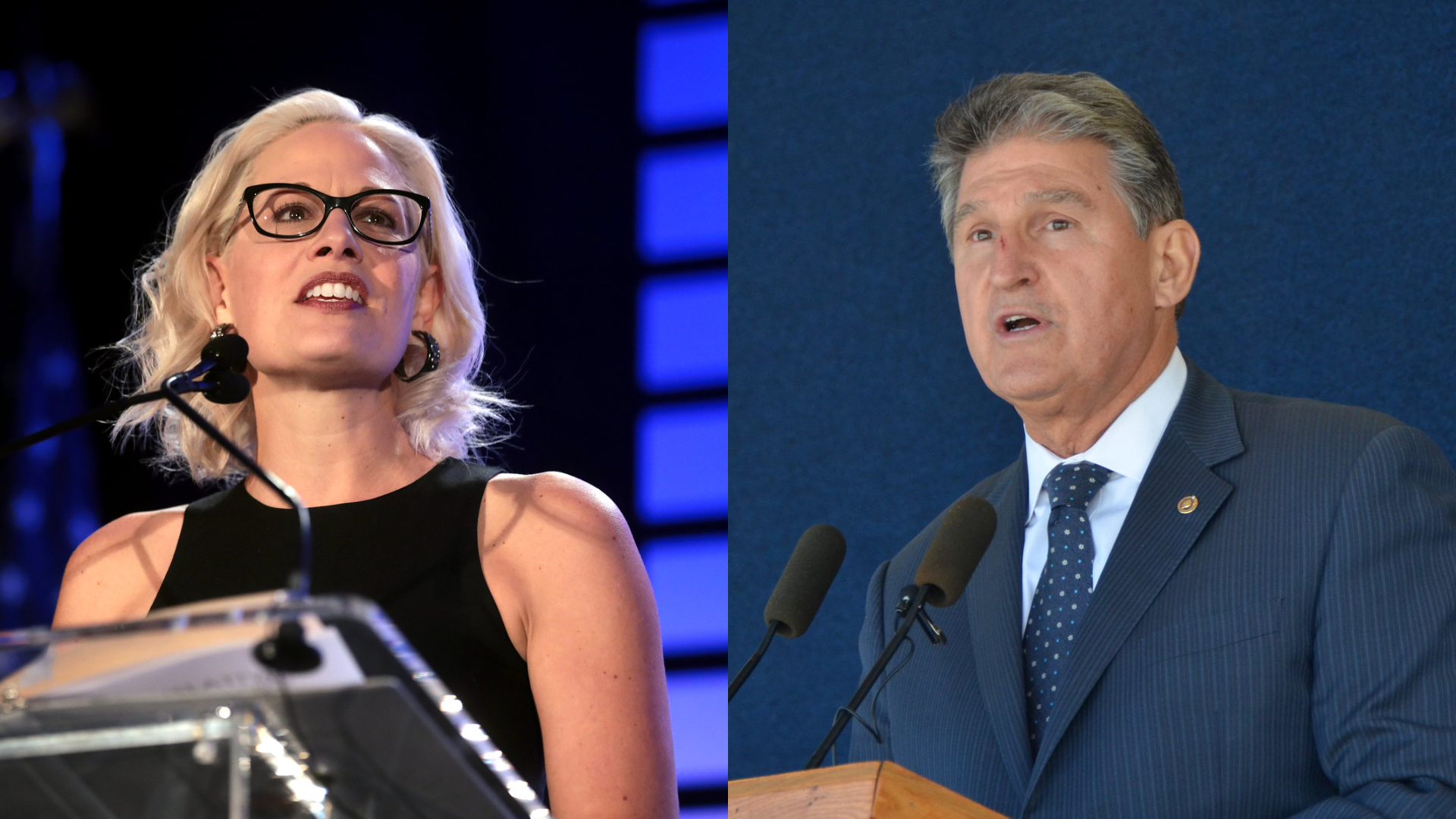 kyrsten sinema and joe manchin are blocking filibuster reform
