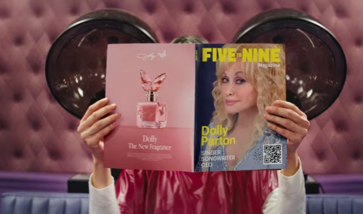 dolly parton squarespace ad