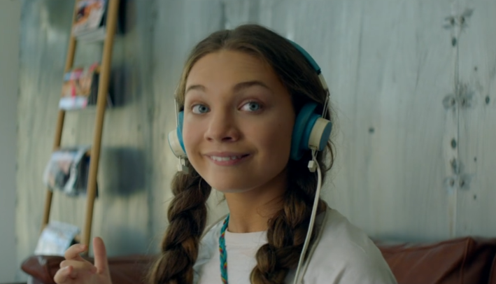 Maddie Ziegler in the movie 'Music'