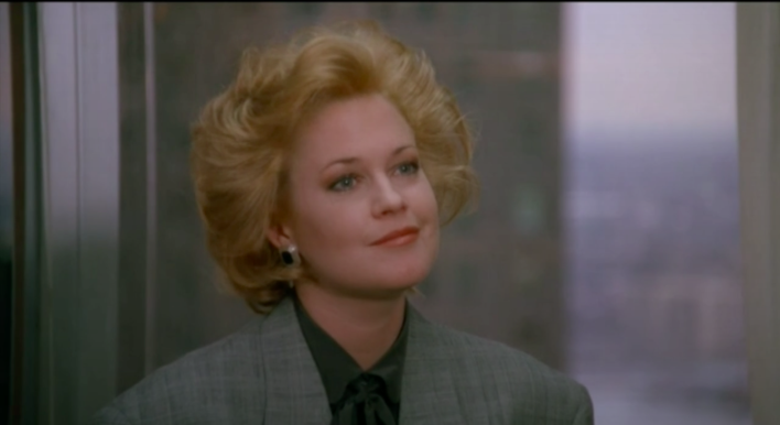 Screenshot from the movie Working Girl