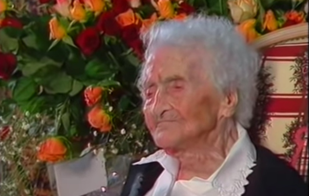 Jeanne Calmet, the world's oldest person