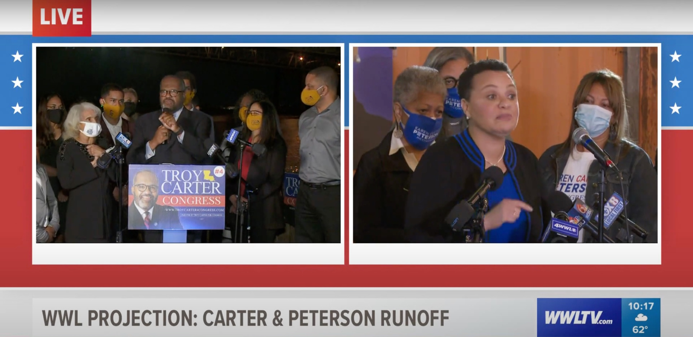 A video of candidate Troy Carter