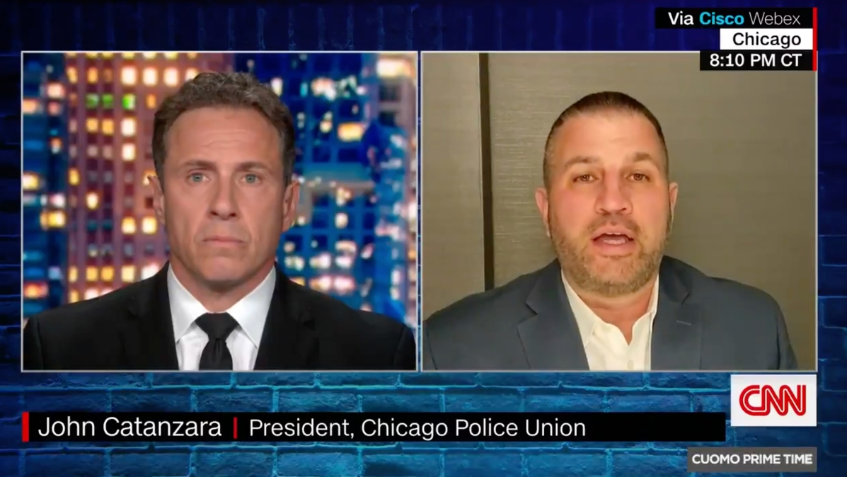 CNN's Chris Cuomo talks to the head of the Chicago police union about Adam Toledo's killing
