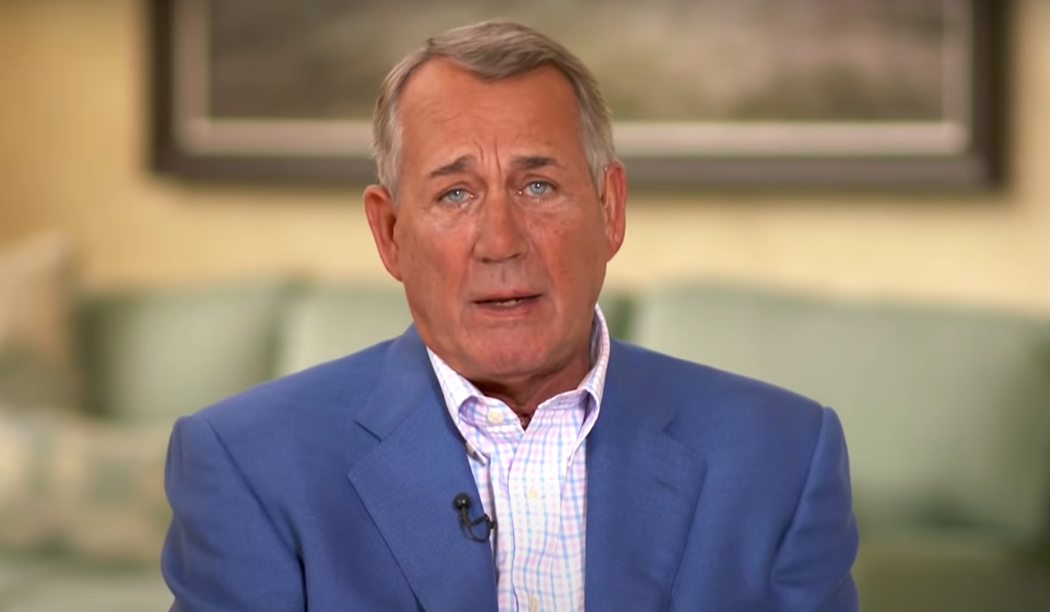 John Boehner speaks about his new book on CBS News
