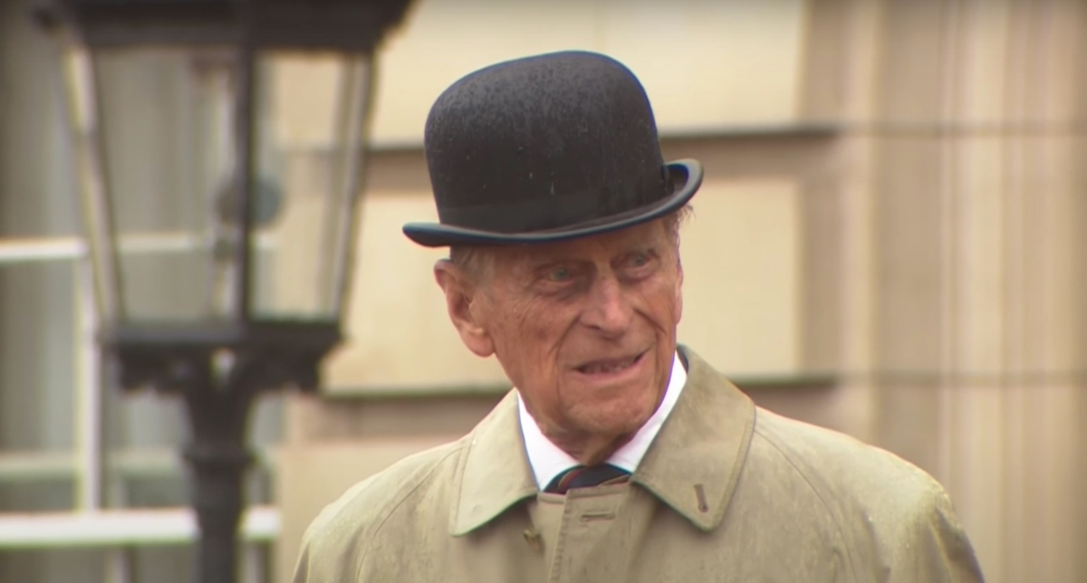 Prince Philip on his last royal engagement. He has died at 99