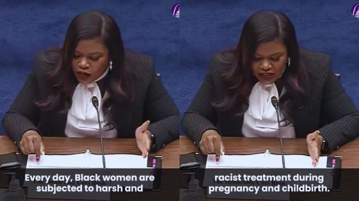Cori Bush testifies about Black maternal mortality before the Committee on Oversight and Reform