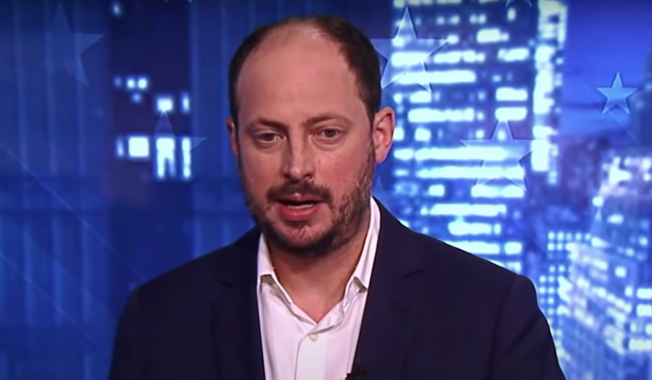 Nate Silver appearing on ABC News